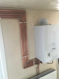 Vaillant Combi Boiler Installation in Bury